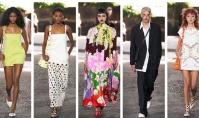 مجموعة فالنتينو بأسبوع الموضة في ميلانو