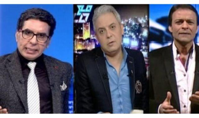 محمد ناصر ومعتز مطر وعبد الله الشريف