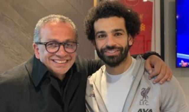 الجناينى مع محمد صلاح