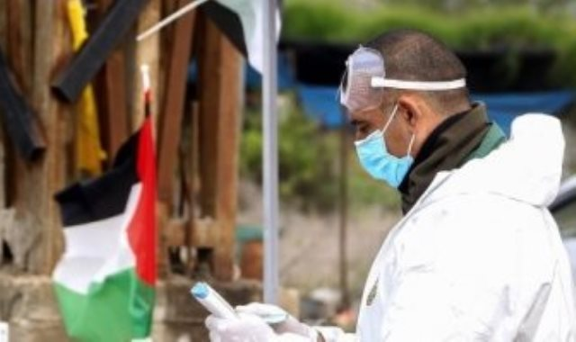كورونا فى فلسطين - أرشيفية