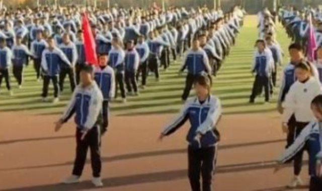 الرياضة فى المدارس الصينية