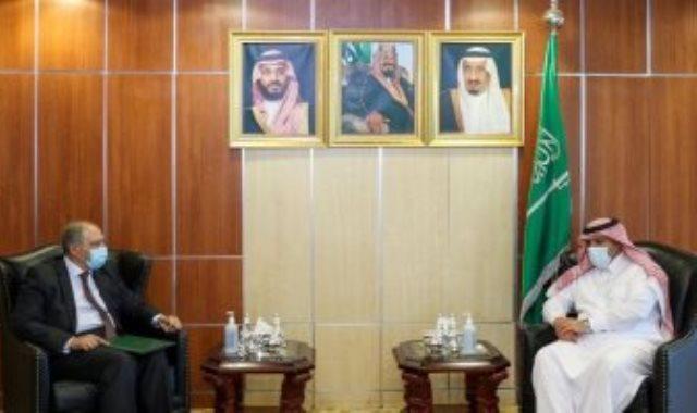 السفيران المصرى أحمد فاروق والسعودى محمد آل جابر