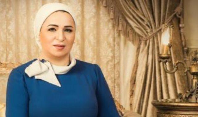 السيدة انتصار السيسي قرينة رئيس الجمهورية