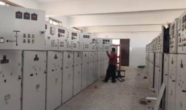 محطة الكهرباء بمشروع بيت الوطن