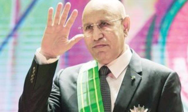 الرئيس الموريتانى محمد ولد الشيخ الغزوانى