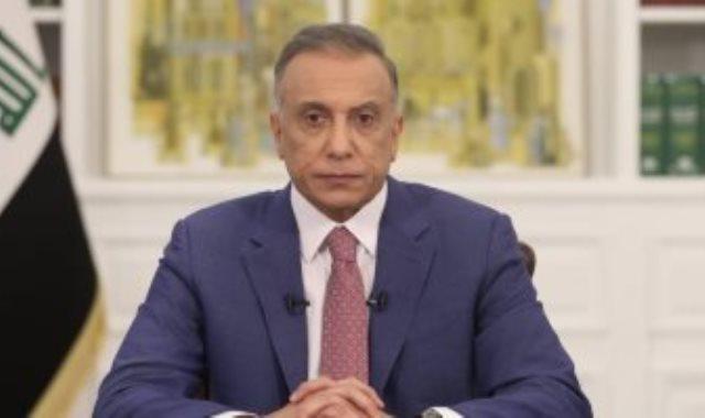 مصطفى الكاظمى رئيس الوزراء العراقى