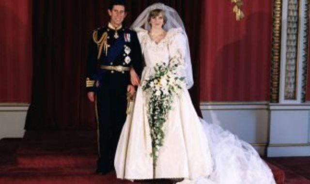 فستان الأميرة ديانا