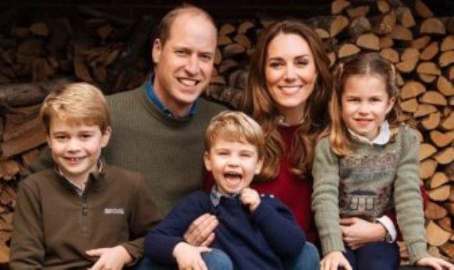 كيت ووليام وأطفالهما