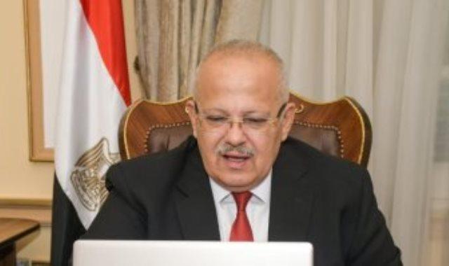 محمد عثمان الخشت رئيس جامعة القاهرة