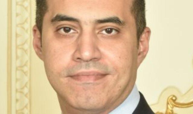 المستشار محمود فوزى الامين العام لمجلس النواب