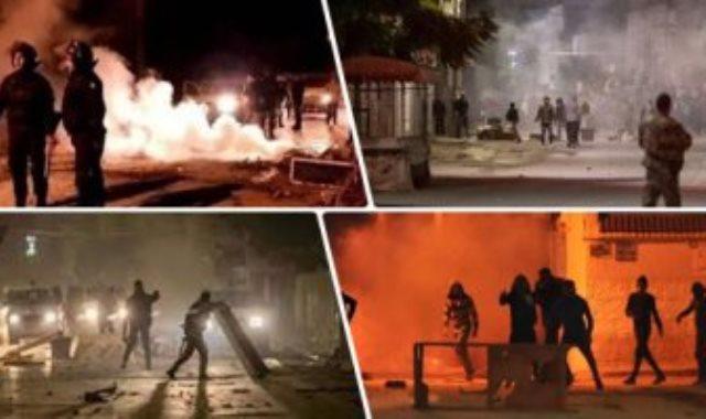 مظاهرات تونس - أرشيفية