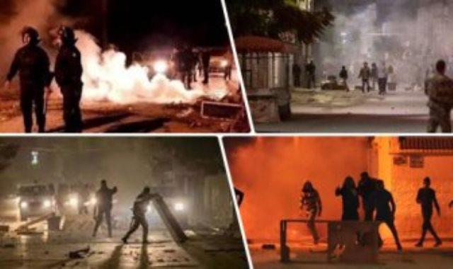 تظاهرات تونس