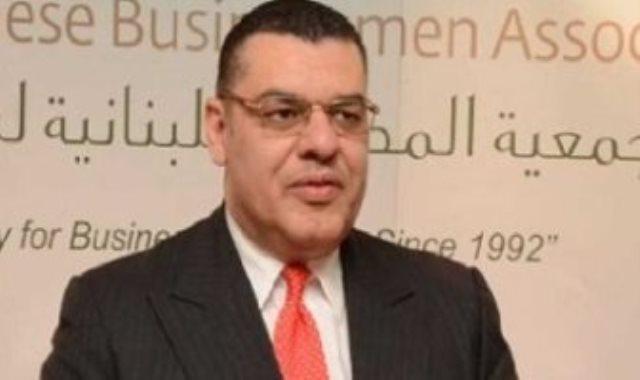 سفير مصر فى لبنان الدكتور ياسر علوى