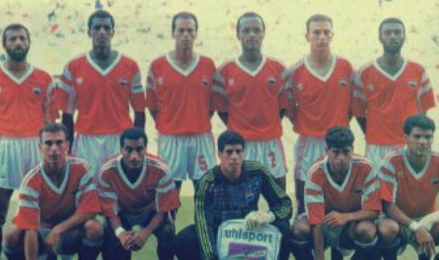 منتخب مصر فى مونديال 90