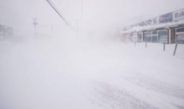 عاصفة ثلجية - صورة أرشيفية