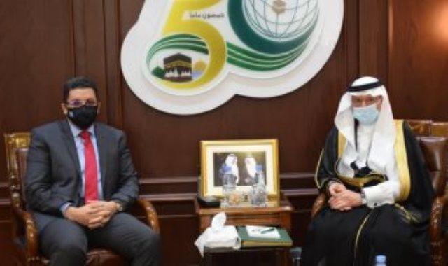 الأمين العام لمنظمة التعاون الاسلامى ووزير خارجية اليمن