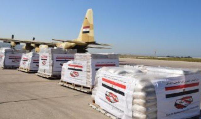 القوات المسلحة المصرية ترسل مساعدات طبية للجيش اللبنانى