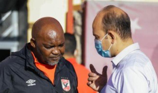 موسيماني مع طبيب الاهلي