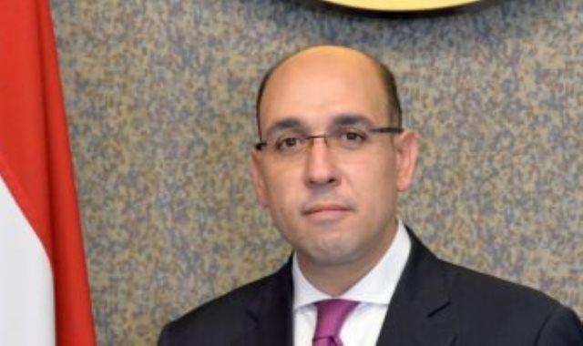 السفير أحمد حافظ المتحدث الرسمى باسم وزارة الخارجية