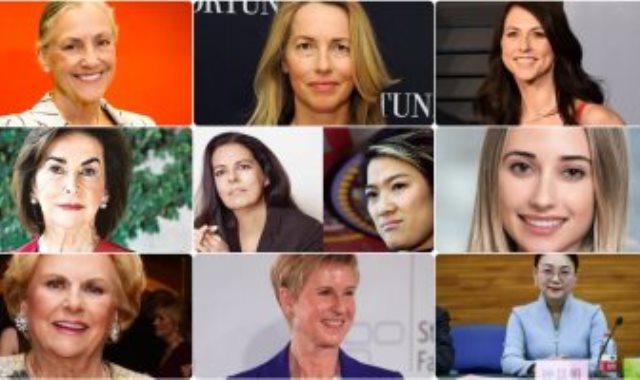 أغنى 10 نساء فى العالم