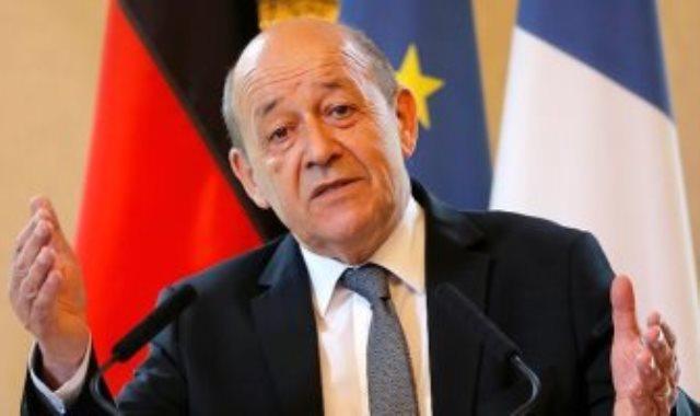 وزير خارجية فرنسا جان ايف لودريان