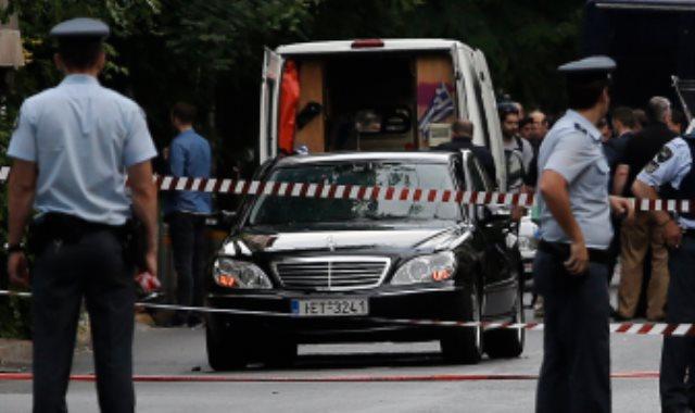 عناصر من الشرطة اليونانية