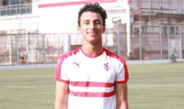 أحمد عيد لاعب الزمالك الصاعد