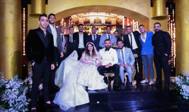 زفاف عز المعذور وفاطمة المصرى