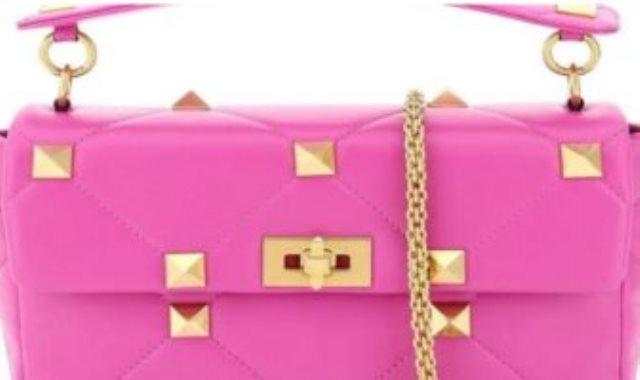 حقيبة بألوان زاهية