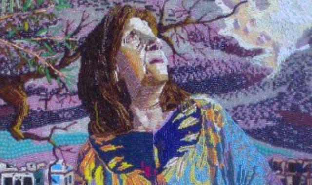 لوحة أمي الخائفة