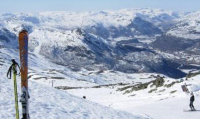 التزلج علي الجليد