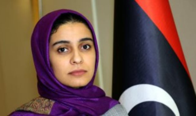المتحدثة باسم المجلس الرئاسي الليبى نجوى أوهيبة