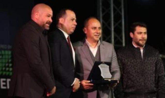 تكريم محمد مرجان في حفل رابطة النقاد الرياضين