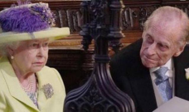 الملكة إليزابيث الثانية والأمير فيليب دوق أدنبره