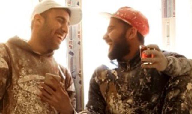 محمد مجدي وصديقه