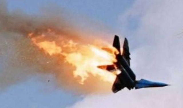 استهداف طائرة مسيرة _ صورة ارشيفية