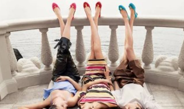 الأحذية الملونة
