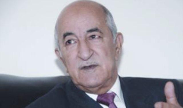 عبد المجيد تبون رئيس الجزائر