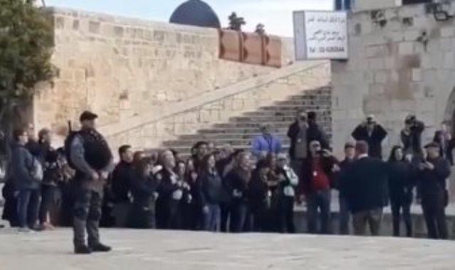 اقتحام للمسجد الأقصى