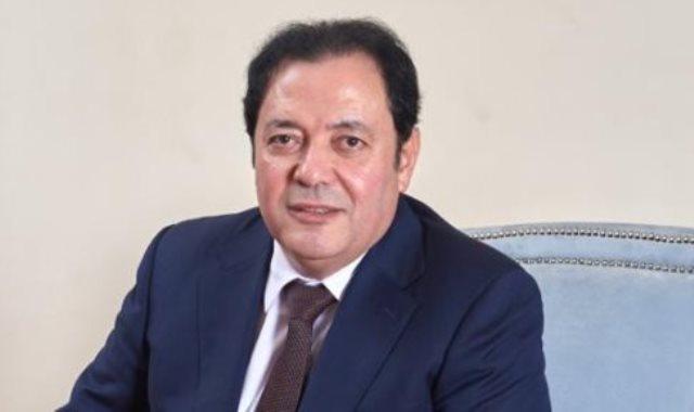 النائب محمد مرشدى عضو مجلس الشيوخ
