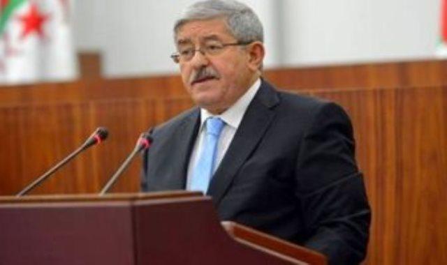 رئيس الوزراء الجزائرى السابق أحمد أويحى