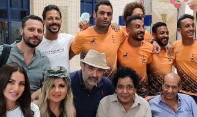 فريق دجلة مع محمد منير
