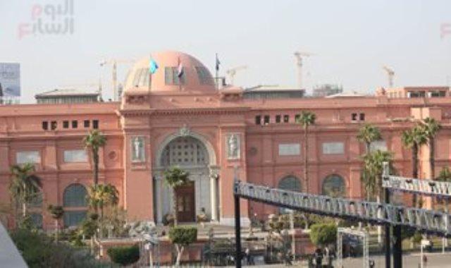المتحف المصري في ميدان التحرير