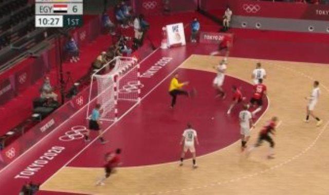 منتخب مصر لكرة اليد وألمانيا