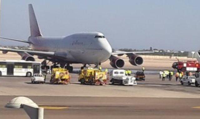 مطار شرم الشيخ الدولى يستقبل أول رحلة طيران روسية