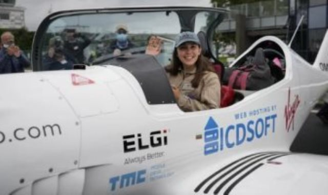 أصغر امرأة تطير وحدها حول العالم