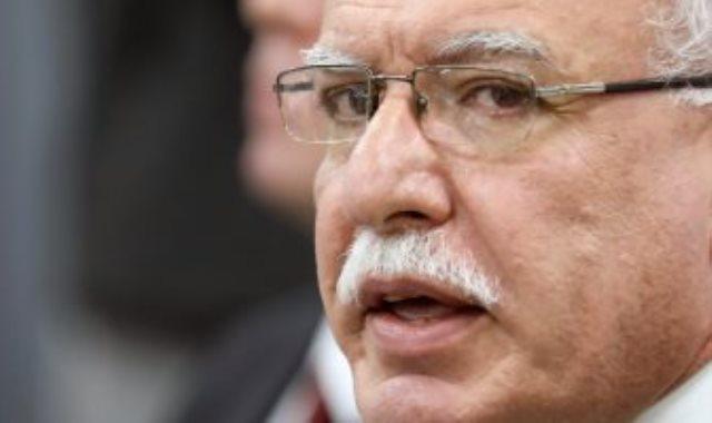 رياض المالكى وزير الخارجية والمغتربين الفلسطينى