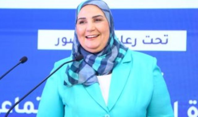 نيفين القباج وزيرة التضامن