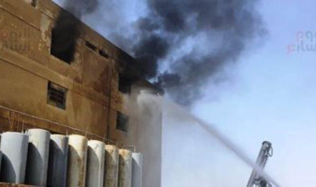 حريق بمصنع مبيدات بالعاشر من رمضان بالشرقية