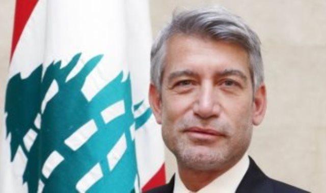وزير الطاقة والمياه اللبنانى الدكتور وليد فياض